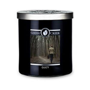 Vonná svíčka ve skleněné dóze Goose Creek Men's Collection Guilty, 50 hodin hoření