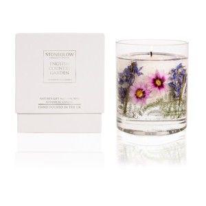Svíčka s vůní bílé lilie Stoneglow, doba hoření 30 hodin