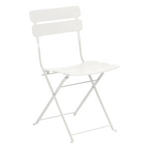 Bílá židle La Forma Ambition