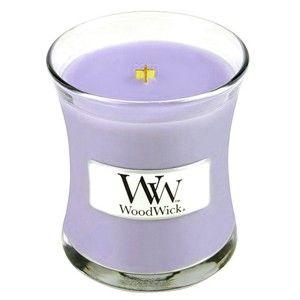 Vonná svíčka WoodWick Šeřík, 20 hodin hoření