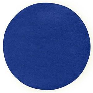 Modrý koberec Hanse Home, ⌀ 133 cm