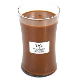 Vonná svíčka WoodWick Vůně perníku, 130 hodin hoření