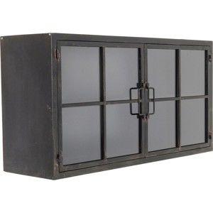 Černá vitrína Kare Design Gold Coast, 80x42cm