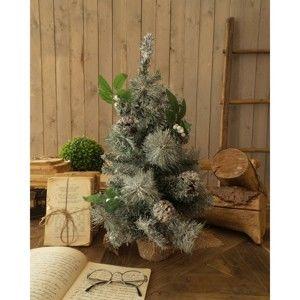 Sada 2 zasněžených vánočních stromků Orchidea Milano Xmas
