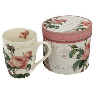 Porcelánový hrnek Duo Gift Rose, 375 ml