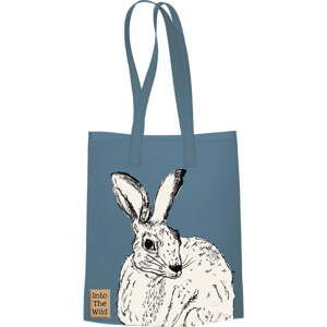 Modrá bavlněná plátěná taška Creative Tops Wild Hare