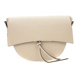 Béžová dámská kožená kabelka Isabella Rhea Modena