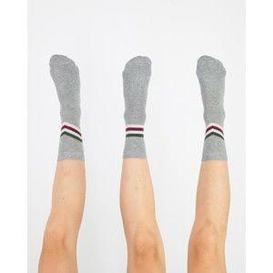 Sada 3 ponožek Really Nice Things Stripes, vel.L/XL