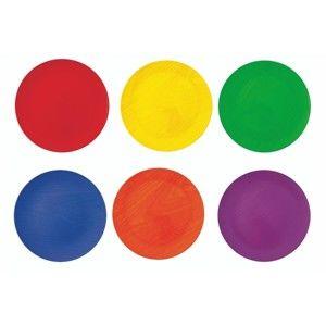 Sada 6 barevných talířů Villa d'Este Cascina Piatto,⌀ 33 cm