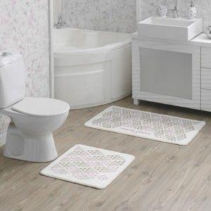 Sada 2 koupelnových předložek Tangranny