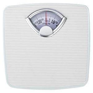 Bílá osobní váha Wenko