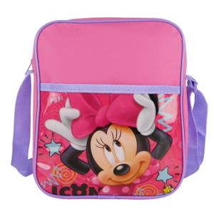 Růžová dětská taška přes rameno Bagtrotter Minnie
