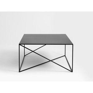Černý konferenční stolek Custom Form Memo, 100x100cm