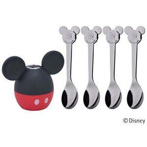 Sada slánky a lžiček WMF Mickey Mouse