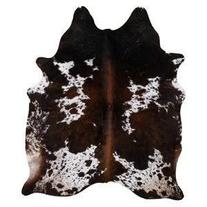 Pravá hovězí kůže Arctic Fur Tricolor, 205 x 180 cm