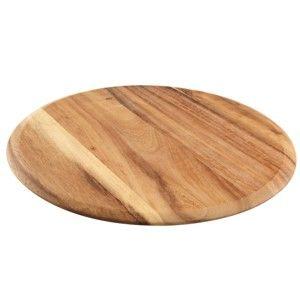 Podnos na pizzu z akáciového dřeva T&G Woodware Baroque