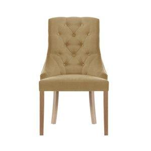 Světle hnědá jídelní židle Jalouse Maison Chiara