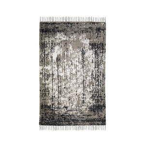 Modro-béžový bavlněný koberec HSM collection Colorful Living Porro, 160 x 230 cm