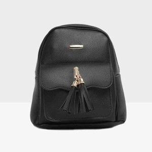 Černý dámský batoh Mori Italian Factory Paresso