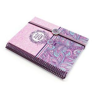 Zápisník A5 Makenotes Purple&Pale, 100 stránek