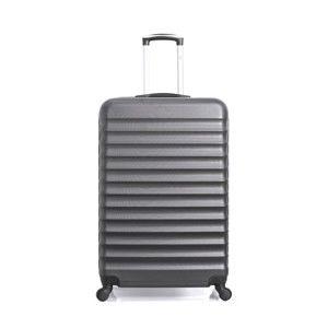 Černý cestovní kufr na kolečkách Hero Meropi, 37 l
