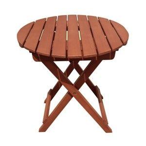 Zahradní skládací odkládací stolek z eukalyptového dřeva ADDU Hanford