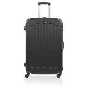Černý cestovní kufr na kolečkách Bluestar,114l