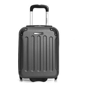 Černé zavazadlo na 4 kolečkách Bluestar San Diego