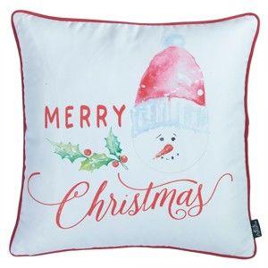 Povlak na polštář s vánočním motivem Apolena Honey Snowman, 45 x 45 cm