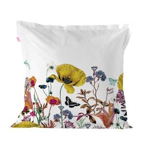Bavlněný povlak na polštář Happy Friday Pillow Cover Birds of Paradise, 60 x 60 cm