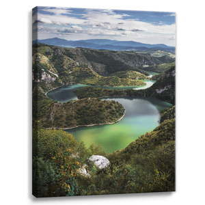 Obraz na plátně Styler Meanders, 100 x 75 cm
