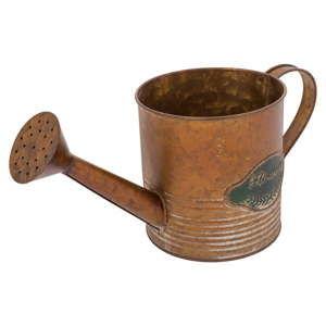 Kovová konev v bronzové barvě Stefan