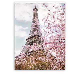 Obraz na plátně Styler Romantic Eiffel, 100 x 75 cm