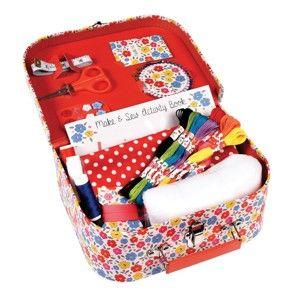 Šicí set v kufříku Rex London Make and Sew