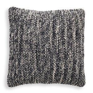 Šedý bavlněný polštář Tomasucci Blend, 45x45cm