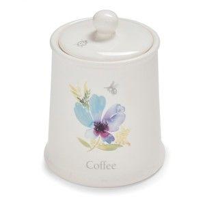 Kameninová dóza na kávu Cooksmart England Chatsworth Floral