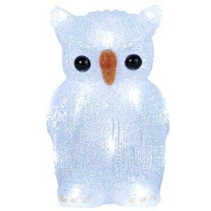 Svítící dekorace Best Season Crystal Owl