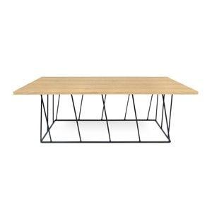 Konferenční stolek s černými nohami TemaHome Helix, 120 cm