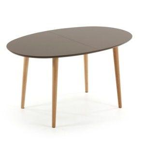 Rozkládací jídelní stůl La Forma Oakland, délka140-220cm