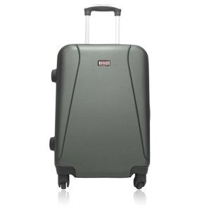 Zelený cestovní kufr na kolečkách Hero Lanzarote,36l