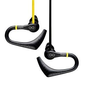 Žlutá sportovní sluchátka Veho ZS-2