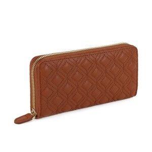 Tmavě hnědá peněženka Laura Ashley Beagle