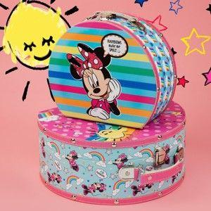 Sada 2 kufříků Disney Minnie Mouse