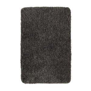 Tmavě šedá koupelnová předložka Wenko Mélange, 65x55cm