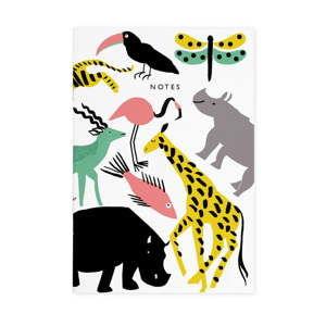Zápisník Ohh Deer Lucie Animals, 44 stránek