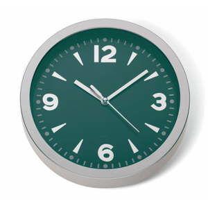 Petrolejově zelené nástěnné hodiny Kela Kopenhagen, ø20cm