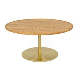 Konferenční stolek s deskou z dubového dřeva Askala Softy
