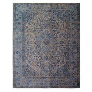 Modrý ručně tkaný koberec Flair Rugs Palais, 200x290cm