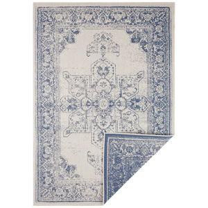 Modro-krémový venkovní koberec Bougari Borbon, 160 x 230 cm
