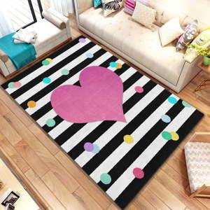 Koberec Homefesto Digital Carpets Heart, 100 x 140 cm